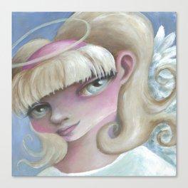 Z imagination Angel Eyes Canvas Print