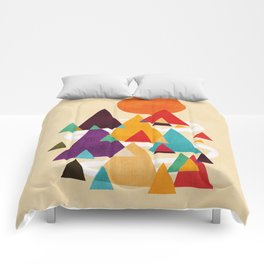 Let's visit the mountains Comforters