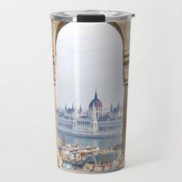 Parliament Building. Travel Mug
