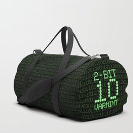 2-Bit Varmint / Binary vermin team code Duffle Bag