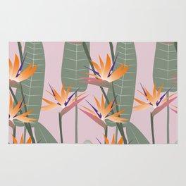 Bird of Paradise - pink Rug