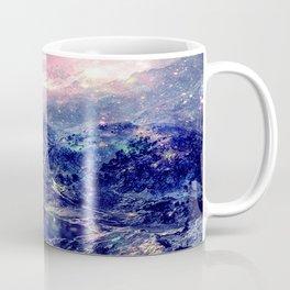 Galaxy Mountains : Deep Pastels Coffee Mug