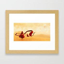 chirp? Framed Art Print