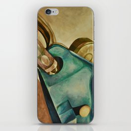 Rock Climbing Belay Device and Carabiner iPhone Skin