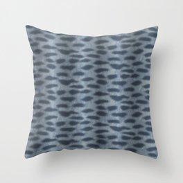 Tiger Shark Skin Throw Pillow