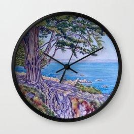 Monterey Bay Cypress Wall Clock