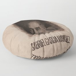 Gabriel Garcia Marquez Floor Pillow