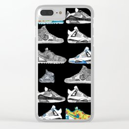 Seek the Sneakers Clear iPhone Case