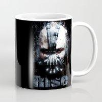bane Mugs featuring Bane: Rise by Sirenphotos