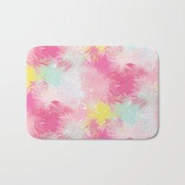 Blurred Blend - Pink Bath Mat