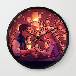 Tangled - A Stolen Heart Wall Clock