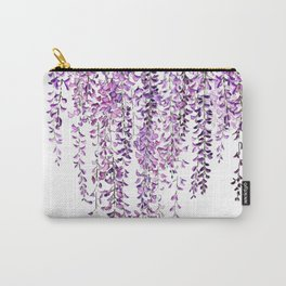 purple wisteria in bloom Carry-All Pouch
