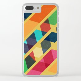 Ribbons Clear iPhone Case