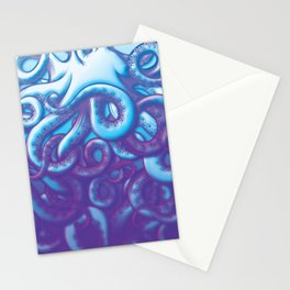 From the Deep Kraken Octopus Squid Tentacles Stationery Cards