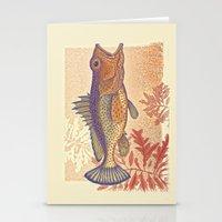 brasil Stationery Cards featuring Gugupuguacu Brasil by Enrique Parra Aldama