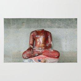 headless Buddha Rug