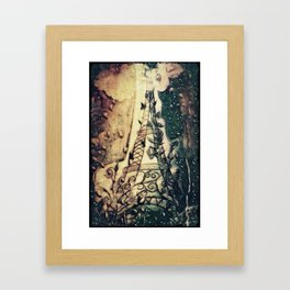 Paris Rain Framed Art Print
