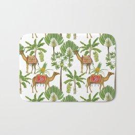 Camels and palms Bath Mat