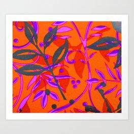 Botany #Society6 #Home Decor #Art Art Print