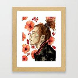 floral no. 2 Framed Art Print