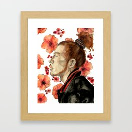 floral no. 2 Framed Art Print