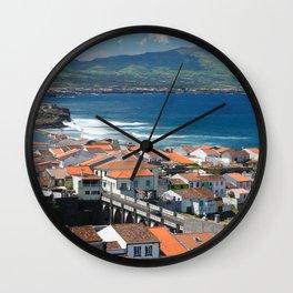 Sao Miguel island Wall Clock