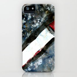 Red matchstick iPhone Case
