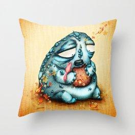 El Gordo y la Golondrina Throw Pillow