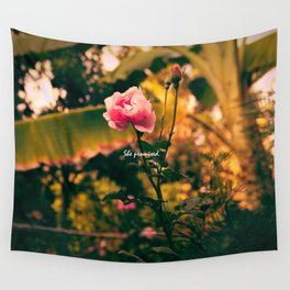 Promises of Life Wall Tapestry