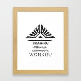Join the Wonkru Framed Art Print