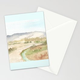 The Golan Heights - WC150615-12b Stationery Cards