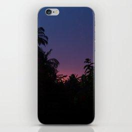 Sunset o the Maldives iPhone Skin