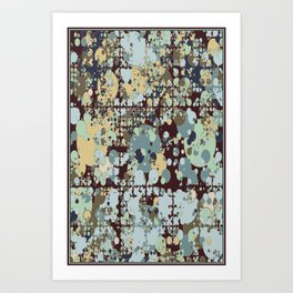 Peaceful Explosion Art Print