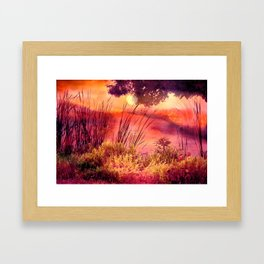 A New Day Framed Art Print