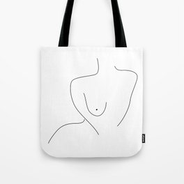 Sexual Figure Lines Tote Bag