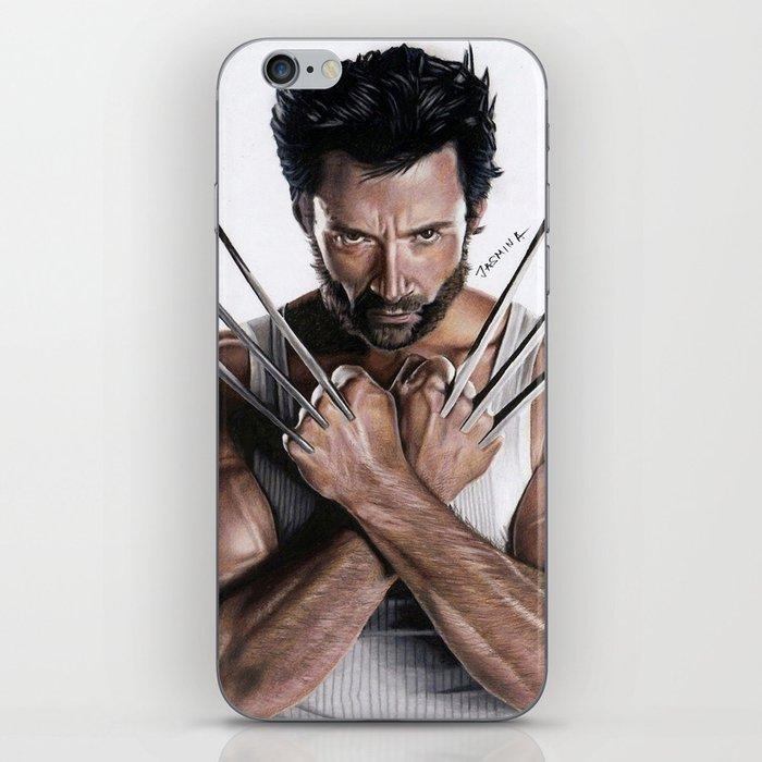 Wolverinefanart iPhone Skin