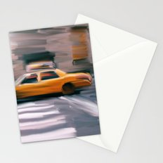 Taxi Cab. Stationery Cards
