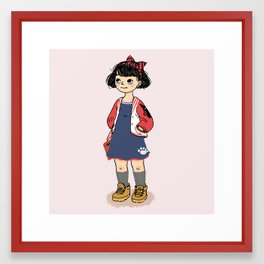Kiki Framed Art Print