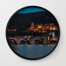 Heidelberg Wall Clock