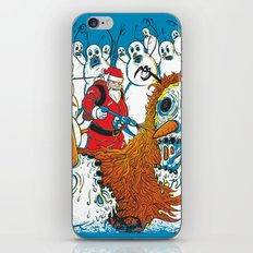 Santa's Last Stand iPhone & iPod Skin