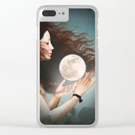 Meet the Moon Clear iPhone Case