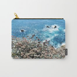 Flowers on a Cliff Carry-All Pouch