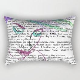 Parrot Hair Fashion Week Rectangular Pillow