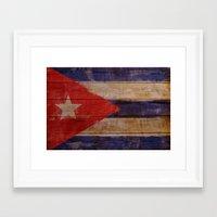 cuba Framed Art Prints featuring Cuba  by Jordygraph