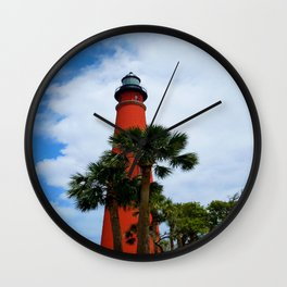 Ponce De Leon Light Wall Clock