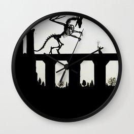 Seeker of Wisdom Wall Clock