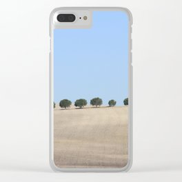 Migrating Trees of Andalusia Clear iPhone Case