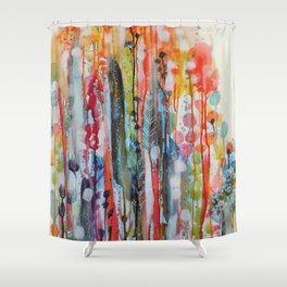 petit jardin 1 Shower Curtain