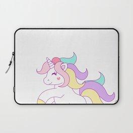 Prettiest Unicorns Are Born In July Birthday Laptop Sleeve