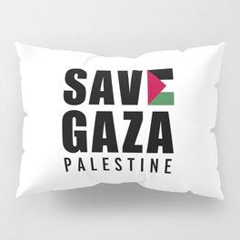 Save Gaza Quote Pillow Sham